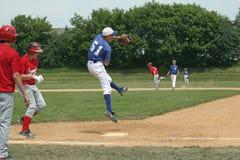 Béisbol de la High School secundaria Imagen de archivo libre de regalías