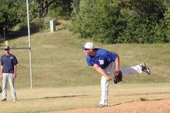 Béisbol de la High School secundaria Fotografía de archivo