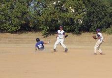 Béisbol de la High School secundaria Fotografía de archivo libre de regalías