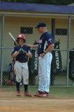 Béisbol de la liga pequeña fotografía de archivo