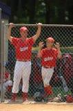 Béisbol de la liga pequeña fotos de archivo