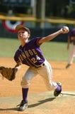 Béisbol de la liga pequeña imágenes de archivo libres de regalías
