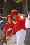 Béisbol de la liga pequeña imagen de archivo libre de regalías