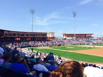 Béisbol de la pretemporada de Clearwater la Florida de los Philadelphia Phillies imagen de archivo