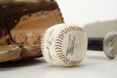 Béisbol de la vendimia Imágenes de archivo libres de regalías