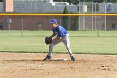 Béisbol del equipo universitario de la High School secundaria Imagen de archivo libre de regalías