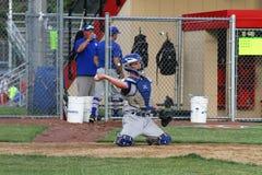 Béisbol del equipo universitario de la High School secundaria Foto de archivo libre de regalías