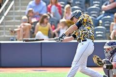 2015 béisbol del NCAA - TCU @ WVU Imagenes de archivo