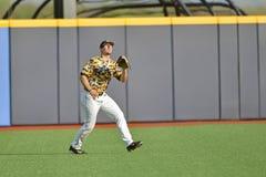 2015 béisbol del NCAA - TCU @ WVU Fotografía de archivo