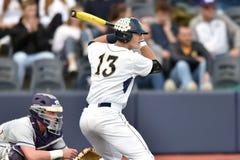 2015 béisbol del NCAA - WVU-TCU Imagenes de archivo
