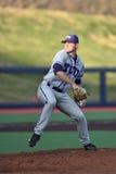 2015 béisbol del NCAA - WVU-TCU Fotografía de archivo libre de regalías