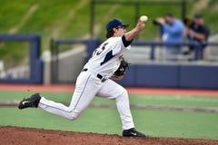 2015 béisbol del NCAA - WVU-TCU Imagen de archivo
