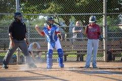 béisbol en el complejo atlético del campo de Mitchell Imagen de archivo