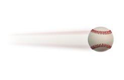 Béisbol en el movimiento Fotografía de archivo libre de regalías