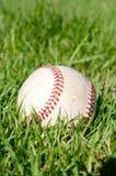 Béisbol en la yarda Fotografía de archivo libre de regalías
