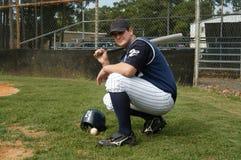 Béisbol hasta el final Foto de archivo