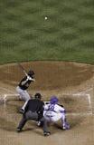 Béisbol - la echada Foto de archivo libre de regalías