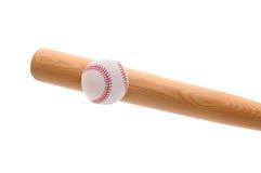 Béisbol llamativo del palo fotografía de archivo libre de regalías