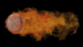 Béisbol llameante metrajes