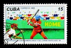 Béisbol, serie de Maracaibo '98, circa 1998 Foto de archivo