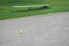 Béisbol solitario Foto de archivo