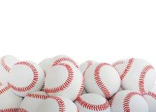 Béisboles aislados Fotos de archivo libres de regalías