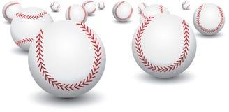 Béisboles aislados Foto de archivo