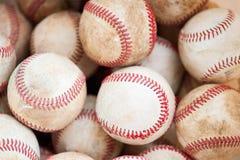 béisboles de la práctica Fotografía de archivo