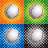 Béisboles de semitono Imagen de archivo libre de regalías