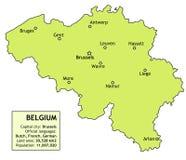 Bélgica ilustração royalty free