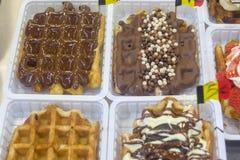 Bélgica Bruselas el olor delicioso de una galleta de Bruselas Fotos de archivo