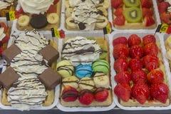Bélgica Bruselas el olor delicioso de una galleta de Bruselas Fotografía de archivo libre de regalías