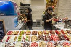 Bélgica Bruselas el olor delicioso de una galleta de Bruselas Imagen de archivo libre de regalías