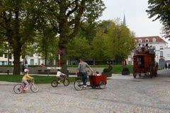 bélgica Cidade bonita Mechelen Foto de Stock