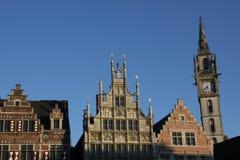Bélgica, Gante Imágenes de archivo libres de regalías