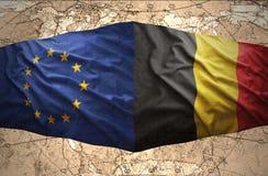 Bélgica y unión europea libre illustration