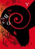 Bélier de signe de zodiaque Photo libre de droits