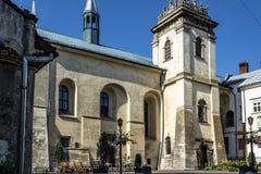 Bénédictine d'église catholique et de monastère photo stock