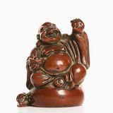 Bénédiction Bouddha. images stock