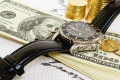 Bénéfice rapide. Image libre de droits
