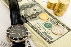 Bénéfice rapide. Image stock