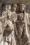 Bénévent (Campania, Italie) : Arco di Traiano Photos libres de droits