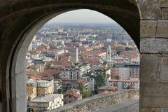 Bérgamo - St Jackob Gate imagen de archivo