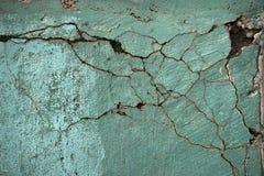 Béton avec des fissures Photo libre de droits