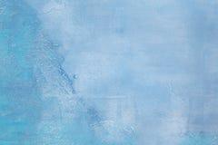 Béton bleu de fond Photos libres de droits