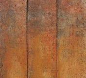 Béton rouge-brun orange modifié usé Photographie stock libre de droits