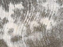 Béton rugueux avec les lignes onduleuses Images stock