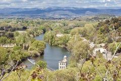 Béziers, fiume del globo Immagini Stock