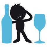bêbedo Imagem de Stock