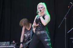 Bête de bataille chez Metalfest 2015 Image libre de droits